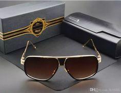 310de56918d3 #Sunglasses Brand Sunglasses Men 2017 New Unisex Grandmaster Five Sunglasses  Women Brand Designer Sun Glasses
