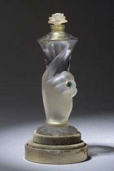 """It's You,"" a BACCARAT perfume bottle for Elizabeth Arden, circa 1939"