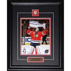Midway Corey Crawford Chicago Blackhawks 2015 Stanley Cup 8x10-inch Frame