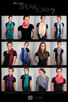 HOW TO WEAR | Women's Fashion Scarves & Shawls
