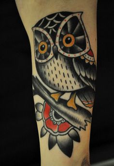 christianlanouette:    Lil' owl, Christian Lanouette