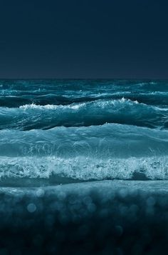 "musefraisedesbois: "" Midnight sea // """