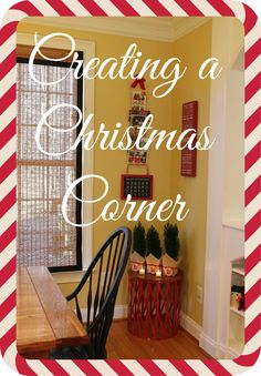 Loved creating a cozy Christmas Corner for this post! #PFDecorates #spon