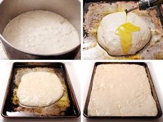 Homemade pizza is always a fun and unfussy choice for a dinner party, but trying to talk to guests while stretching dough, scattering toppings and transferring pizza from peel to oven means my kitchen always ends up looking like a mini pizza tornado blew through it. That's why I'm intrigued by this party-friendly pan pizza recipe from Serious Eats. It's big enough to serve a crowd and, best of all, it rises in the same pan it's baked in — so you can just top it and pop the whole pan in ...