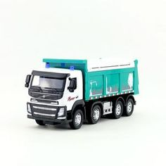 1:50 Project Material Transporter Garbage Truck Diecast Model 1//50 Sound /& Light