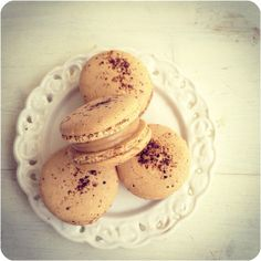 Coffee Macarons by bossacafez, via Flickr