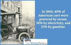 Car Facts : 1900 cars | did you know