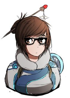 Mei Sketch Colour - Overwatch by Chrissy743 on DeviantArt
