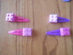 Lego Barrettes