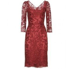Dolce & Gabbana Dress With Lace Overlay...sew my own...but a lace cheongsam over a silk slip