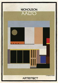 Image 7 of 26 from gallery of ARTISTECT: Famous Paintings With An Architectural Twist. Photograph by Federico Babina Kandinsky, Famous Architecture, Architecture Graphics, Famous Artwork, Advertising Poster, Framed Art Prints, Vintage Posters, Graphic Art, Graphic Design