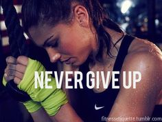 I don't think anything gives me more motivation to go to the gym than Nike ads