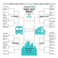 The Urbanist Toolkit Bracket Challenge - Henry Grabar - The Atlantic Cities