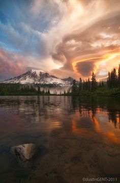 Mt. Rainier National Park, Washington State by Dustin Gent
