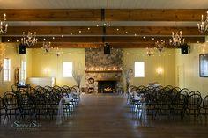 Fort Gibraltar Winnipeg.  Indoor wedding ceremony venue.