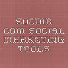 socdir.com Social marketing tools