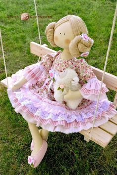 If you love arts and crafts a person will really like our info! Felt Fabric, Fabric Dolls, Softies, Doll Toys, Baby Dolls, Waldorf Dolls, Soft Dolls, Doll Patterns, Beautiful Dolls