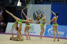 Russia Rhythmic Gymnastics, Leotards, Dancing, Russia, Competition, Group, Sports, Ballerina, Navy Tights