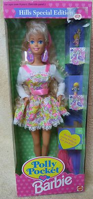 Barbie Doll Hill Special Polly Pocket NEW