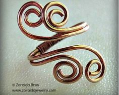 Adjustable Wire Wrapped Ring Tutorials - The Beading Gem's Journal