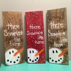 Snowman Pallet sign, Christmas Sign, Snowman decor, Hand painted Snowman decorations by RusttooRuffles on Etsy https://www.etsy.com/listing/452507924/snowman-pallet-sign-christmas-sign