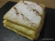 Cocina – Recetas y Consejos Sweet Desserts, Sweet Recipes, Hispanic Desserts, Cuban Cuisine, Spanish Food, Spanish Recipes, Cakes And More, Food And Drink, Favorite Recipes