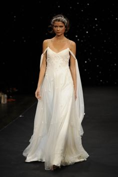 this is THE DRESS i want to wear if we do our renewal vows on our 20th!!  boho wedding dress