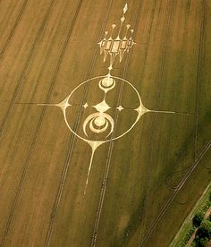 Crop Circle at Stanton St Bernard (2) (PHASE 3), nr Alton Barnes, Wiltshire. Reported 20th July   2012.