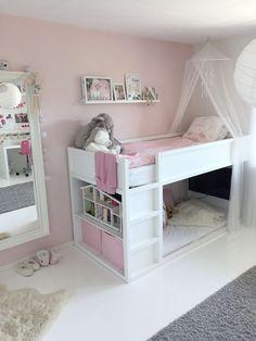 Bed for girls room - KURA bed kurabed kurahack kidsbed kidsroom pink white kidsbed kidsroom kurabed kurahack white Genel