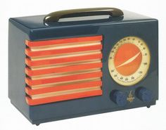 Norman Bel Geddes, Patriot Radio, 1940 by Gatochy on Flickr.