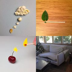 Brock Davis Turns His Clever Visual Jokes into Stop Motion Shorts on Vine (Animations via Link)