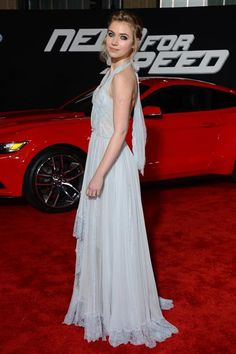 """Imogen Poots arrives at the premiere of """"Need for Speed"""" in Hollywood on March 6, 2014."""