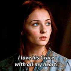 "When she convinced EVERYONE that she was truly in love with Joffrey. | 21 Times Sansa Stark Was The Smartest ""Game Of Thrones"" Character"