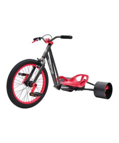 Another great find on #zulily! Gray & Red Triad Notorious Drift Tricycle #zulilyfinds