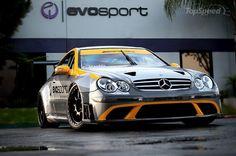Mercedes CLK 63 AMG Black Car Race Series Di MBBS-Evorsport