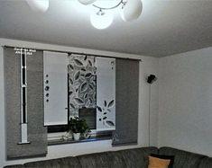 Moderne kreative Gardinen individuellen by GARDINANWELTANGELINA Sliding Curtains, Oversized Mirror, Etsy Seller, Bathtub, Living Room, Trending Outfits, Unique, Furniture, Home Decor