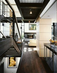 Leschi Residence in Seattle, designed by Olson Kundig Architects. Photo by Benjamin Benschneider.