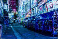 Rutledge Lane at Night, via Flickr.
