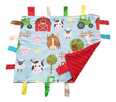 Lovey Security Baby Blanket Sensory Tag Toy Educational Farm Animals The Learning Lovey ** Check out the image by visiting the link. (This is an affiliate link)
