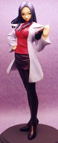 Rival-Schools-Kyoko-Figura-Estatua-1-6-Kit-De-Resina-De-Arcilla-Z-Raro-Capcom