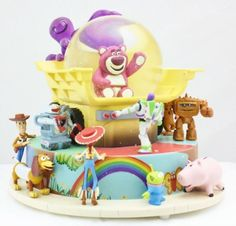 Disney Toy Story 3 Snow Globe - Toys for years old happy toys Toy Story 3, Water Globes, Snow Globes, Glitter Globes, Disney Music Box, Chrissy Snow, Toy Story Bedroom, Disney Snowglobes, Disney Rooms