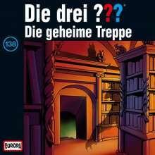 Die drei ??? (Folge 138) - Die geheime Treppe, CD