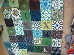 Cloakroom tiles