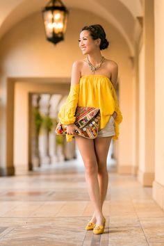 Sicilian Summer :: Trapeze blouse