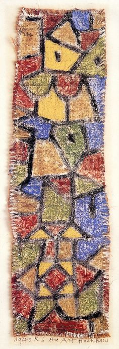 The Athenaeum - A Kind of Skyscraper (Paul Klee - )