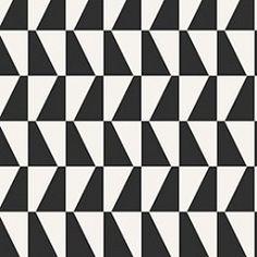 2742 Scandinavian Designers #behang van Boras Tapeter zwart - wit interieur wonen http://www.verfenwand.nl/assortiment/behang/boras-tapeter/1156 Vierkanten met zwart en wit.