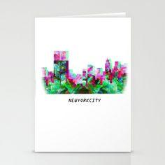 newyorkcity Stationery Cards by J.Lauren Photographs - $12.00