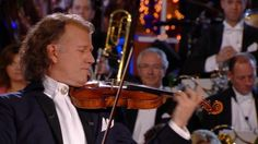 "André Rieu & his Johann Strauss Orchestra playing ""The Beautiful Blue Danube"" (An der schönen blauen Donau) by composer Johann Strauss II. Christmas Music, White Christmas, Funny Slogans, Violin, How To Look Pretty, Holiday Fun, Music Videos, Concert, Youtube"