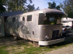 Hmmmm... Spartan didnt produce motorhimes. But there was one in Issaquah Washington ... could this be it? 1948 Spartan motorhome.