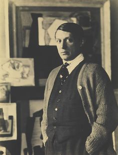 Pablo Picasso, 1922 by Man Ray
